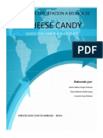 Exportacion de Queso de Chocolate a Belgica