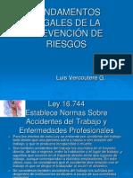 3 Fundamentos Legales Prev. Riesgos