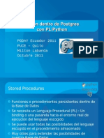 Python dentro de Postgres con PL/Python
