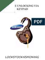 A+ Best Samsung Remote Unlocking