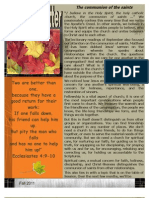 HPC Fall Newsletter 2011