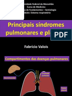 Sindromes Parenquimatosas Pulmonares e Pleurais