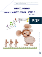 Canciones Recreativas 2011.
