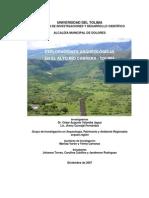 Exploraciones Arqueológicas en el Alto Rio Cabrera - 1971_2007