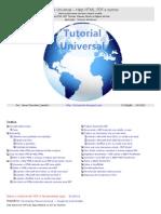 Tutorial Universal – Help HTML, PDF e outros