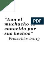 TEXTO Prov. 20 13