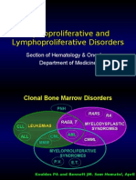 Medicine2 - Myeloproliferative, Lymphoproliferative Workshop