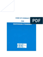 código de conduta para a pesca responsável
