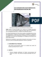Estrategias Para El to Del Flujo Turistico en El Complejo Arqueologico Wari 2011
