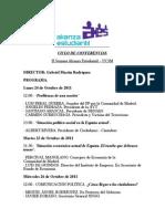 II Ciclo de Conferencias - AES