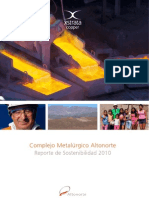 Altonorte Sustainability Report 2010 (Spanish)