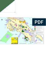 Mapa de Areas Silvestres Protegidas 2011