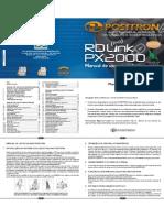 Manual De Uso E Instalação Alarme Bloqueador Positron Px2000 Rd Link