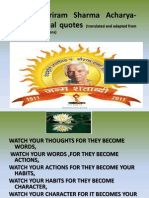 Pandit Shriram Sharma Acharya-Motivational Quotes
