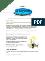 Lección 6-  La Salvación y las Recompesas