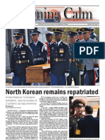 Morning Calm Weekly Newspaper - 14 October 2011