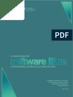 La Oportunidad del Software Libre