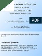 Niveles de prevención (2)