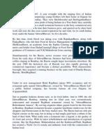 Khandani Rajdhani Report