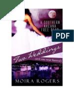 Two Weddings- Moira Rogers