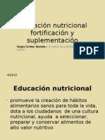 educacion nutricional