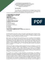 Metodología de la investigación- Unidad 3- El proyecto