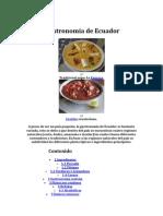 Gastronomía de Ecuador