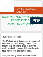 Primer on Renewable Energy