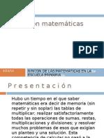 operación matemáticas