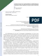 ESA Les Facteurs Socioculturels Dans Les Representations Mathematiques