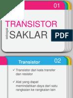 TransistorSaklarElektronik