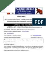The Bitless Bridle Manual de Uso Traduccion