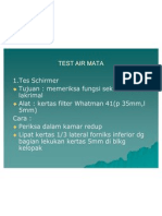 Test Air Mata