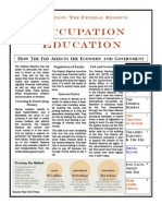 Occupation Education - 1st Ed the Fed