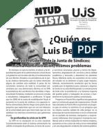 ¿Quien es Luis Berríos?, Boletín #6, Septiembre 2011