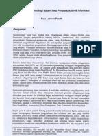 Persoalan Epistemologi dalam Ilmu Perpustakaan & Informasi