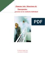 Conducta Humana Ante Situaciones de Emergencias