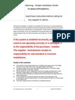 Installation Guide 12000BTU