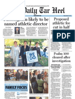 The Daily Tar Heel for October 14, 2011