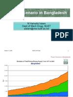 PowerScenario in Bangladesh