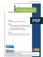 b Schools Rankings Survey 2011