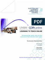 Final Report - Learning to Teach Online Project