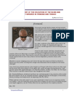 History of Education of Blind in Trinidad & Tobago
