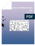 Extraction of Caffeine From Tea