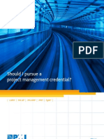 PMI Credentials Certification Brochure