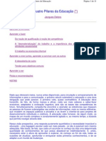 4 pilares da educac+úo_DELORS_UNESCO