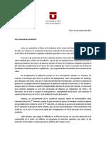 11-10-14 - Comunicado Pleno Plebiscito y movilización