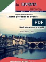 Revista IUVENTA - Numarul 6 - Octombrie 2011