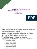 16th Lec 08 Landmarks of the Skull