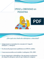 OBESIDAD PEDIATRIA